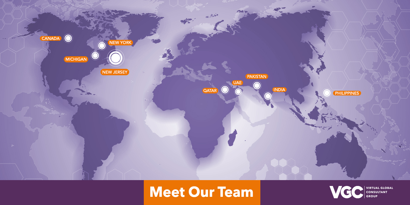 Meet the Team - World Map