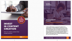 Sneak peek - invest in content ebook